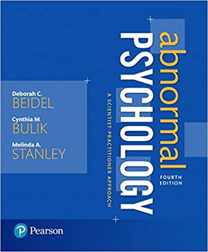 Amazon Com Abnormal Psychology A Scientist Practitioner Approach