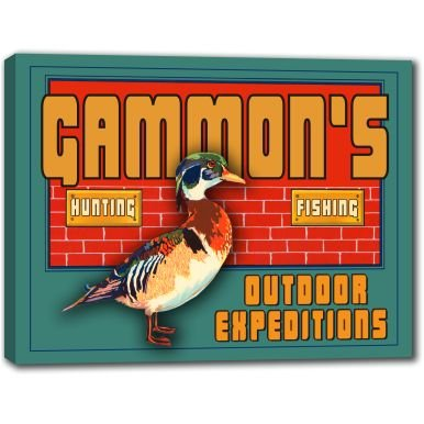gammons-outdoor-expeditions-stretched-canvas-sign-24-x-30