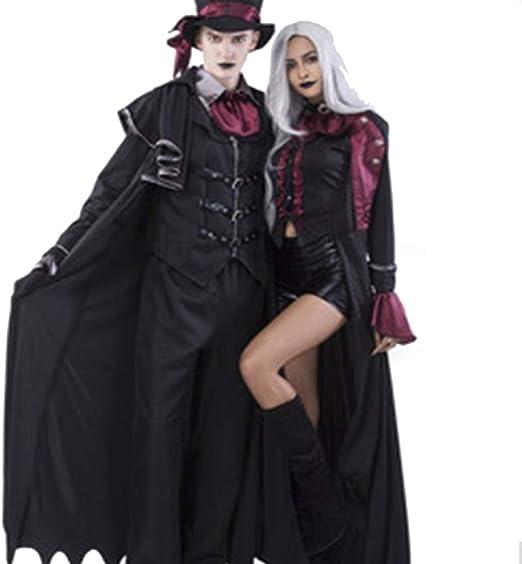 TUWEN Horror De Halloween Vampiro Disfraz Fantasma Festival Capa ...