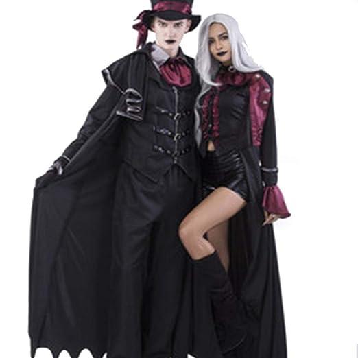 TUWEN Horror De Halloween Vampiro Disfraz Fantasma Festival ...