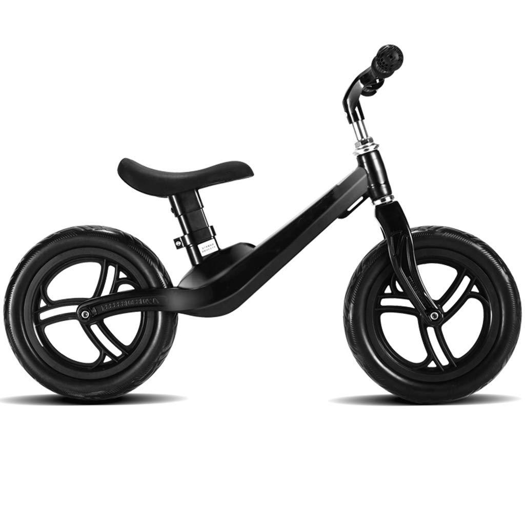 ペダルなし自転車 - 子供用 幼児用 子供と軽自動車のための軽量バランスバイク - 歩行自転車 黒、黒 黒/青/ピンク/赤のペダルプッシュとストライドなし (色 : Red) B07LCJ11DG 黒 黒, さぬきや 家具とインテリアのお店:a65e3c44 --- gamenavi.club