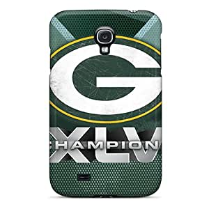 High-quality Durable Protection Case For Galaxy S4(green Bay Packers)