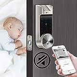 AL30B Biometric Smart Lock Bluetooth Keypad
