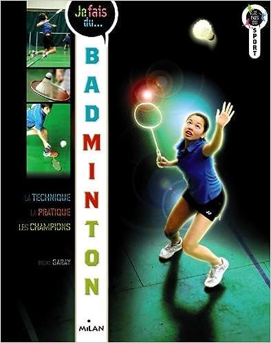 Book Je fais du badminton