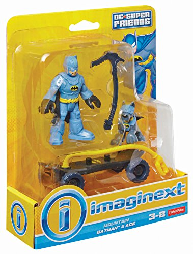 Fisher-Price, Imaginext, DC Super Friends, Mountain Batman and Ace Action Figures