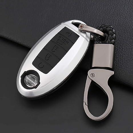 Amazon.com: ontto - Funda para llave de coche con 5 botones ...