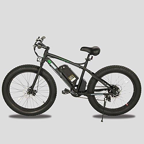26″ Fat Bike Tire Wheel Men Snow Beach Mountain electric Bicycle 500W electric moped Best Deal