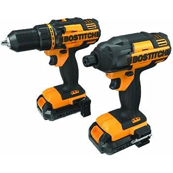 BOSTITCH BTCK410L2 18V Lithium 2-Tool Combo Kit - Power