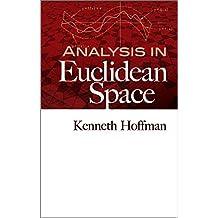 Analysis in Euclidean Space (Dover Books on Mathematics)