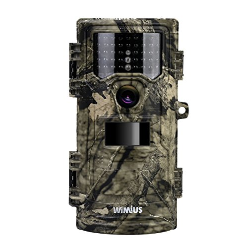 Trail Camera 12MP 1080P 2.3″ LCD Game Hunting Camera with 940nm No Glow IR LEDs up to 69ft Infrared Night Vision for Wildlife Monitoring and Yard Security