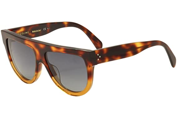 5d07cd3f5c69 Image Unavailable. Image not available for. Color  Celine CL41026 S 233  Havana Brown Shadow Round Sunglasses Lens Category 3 Siz