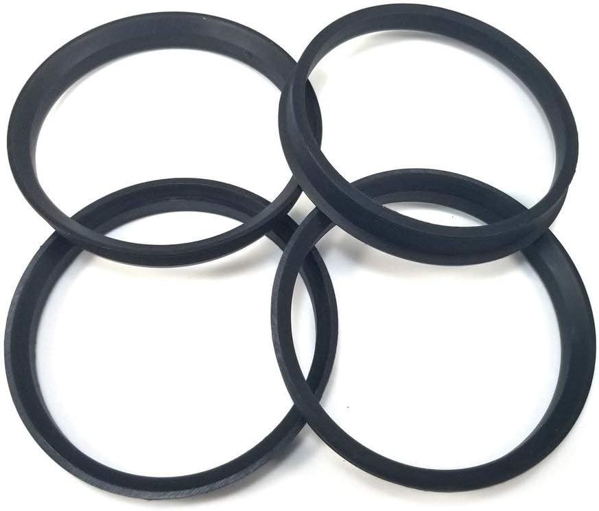 Excalibur Wheel Accessories HCR215-4 Hub Centric Rings 72.60mm Hub to 74.10mm Rim Nylon 4-Pack