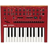 Korg Monologue Monophonic Analog Synthesizer with Presets -Red (MONOLOGUERD)