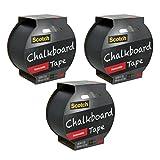 Scotch Chalkboard Tape, 1.88-Inch x 5-Yard, 3-Pack