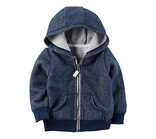 Carter's Baby Boys' Cardigan 24 Months - Blue Infant Sweatshirt