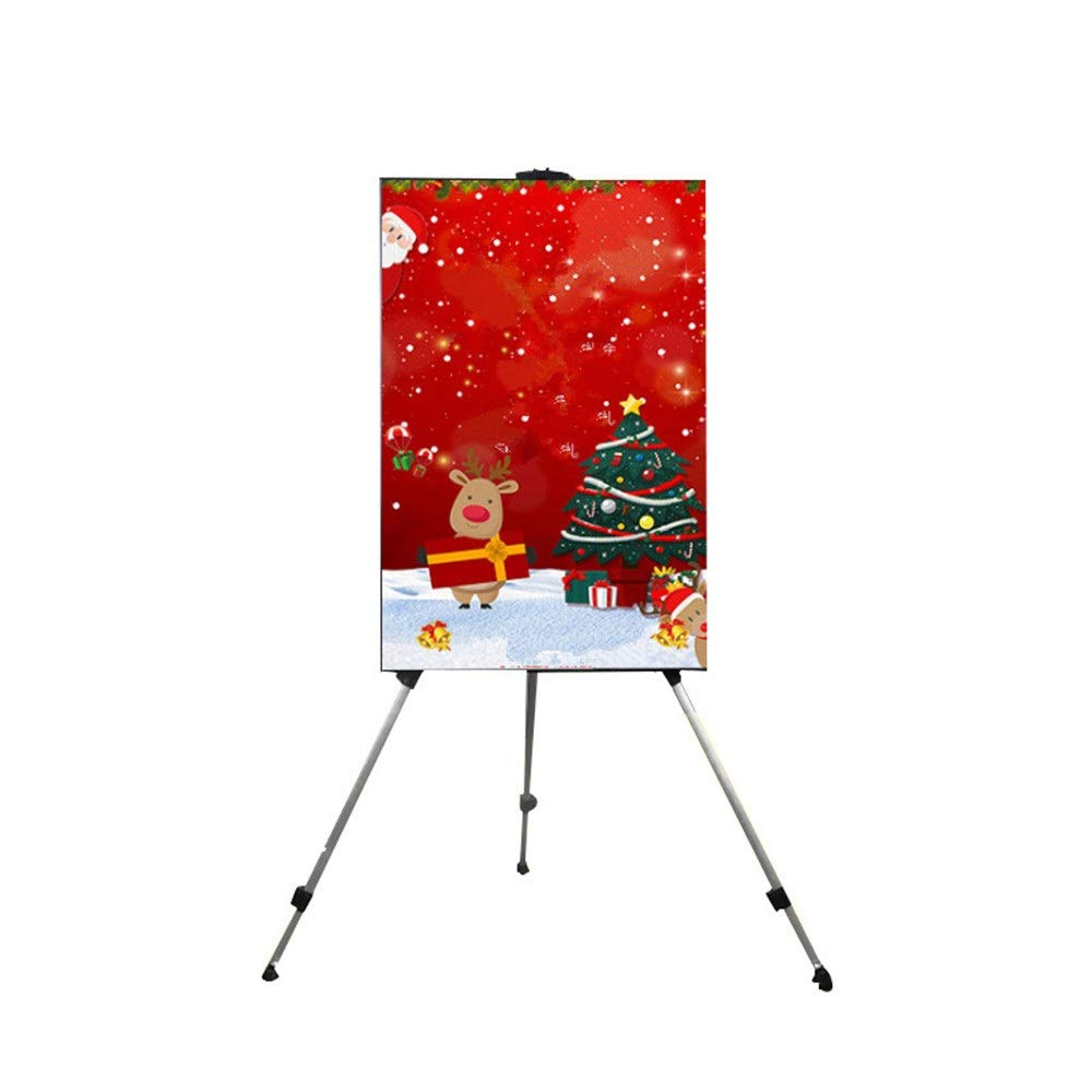 Poster Display Stand 50 X 70 Cm Aluminum Alloy Poster Display Stands Tripod Office Flipchart Easel Poster Sign Display Holder For Trade Exhibition Retail Stores Restaurants Poster Display Stand Rack