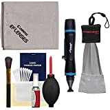 Canon Optical Digital Camera & Lens Cleaning Kit with Brush - Microfiber Cloth - Fluid & Tissue + Spudz Cloth + Mini Lenspen for Powershot SX50 & SX60 HS - G15 - G16 & G1 G3 G7 X