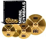 Meinl Cymbals HCS141620 HCS Cymbal Box Set Pack with 14-Inch Hi Hat Pair, 16-Inch Crash, 20-Inch Ride (VIDEO)