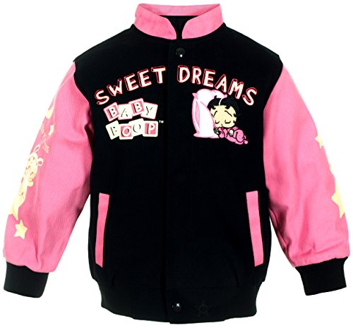 Girl's Baby Boop Sweet Dreams Snap-Up Jacket (6) ()