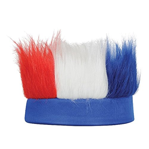 Beistle 60277-RWB Hairy Headband -