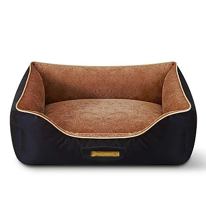 Camas Perros y Gatos Cesta lavable cama para perros, funda extraíble lavable a máquina,