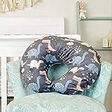 Minky Nursing Pillow Cover | Dinosaurs Pattern