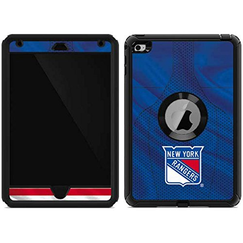 Skinit New York Rangers Home Jersey OtterBox Defender iPad Mini 4 Skin for CASE - Officially Licensed NHL Skin for Popular Cases Decal - Ultra Thin, Lightweight Vinyl Decal Protection