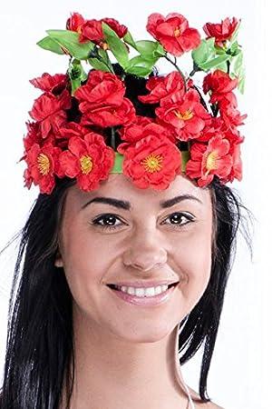 1 Couronne De Fleurs Tahitienne Amazon Fr Cuisine Maison