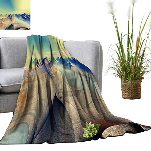 YOYI Warm Blanket Unknown ts are in deep Space Winter Lightweight Thermal Blankets for Couch Bed Sofa 60
