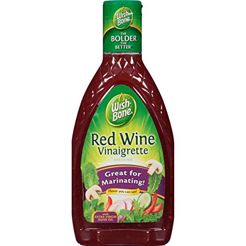 Vinegar Dressing Wine Red - Wish-Bone Salad Dressing, Red Wine Vinaigrette, 16 oz