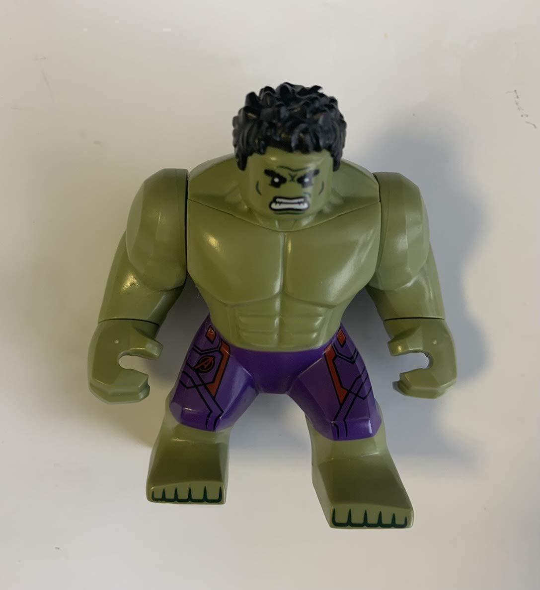 LEGO GENUINE Age of Ultron - INCREDIBLE HULK Supersize Minifigure - Split from 76031 Set