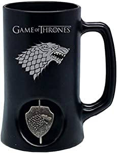 SD toys - Chope Game Of Thrones - Stark Noir Logo Rotatif - 8436546898030