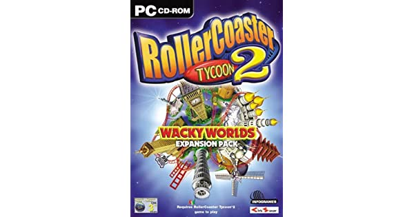 Amazon.com: RollerCoaster Tycoon 2: Wacky Worlds Expansion ...