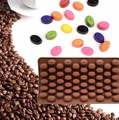 Food Grade Silicone Chocolate Candy Molds Heart-Shaped Non-S