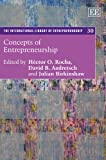 Concepts of Entrepreneurship, David B. Audretsch, 1782540113