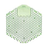 Deluxe Urinal Screen, Cucumber Melon, Green, 10/Case