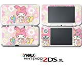 My Melody and Friends Bunny Kitty Video Game Vinyl Decal Skin Sticker Cover for Nintendo New 2DS XL System Console