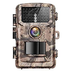 Flashandfocus.com 51VP3cKua5L._SS300_ Campark 4K Trail Camera-20MP Game Hunting Camera with 120°Wide-Angle 42pcs IR LEDs Infrared Night Vision and IP56…