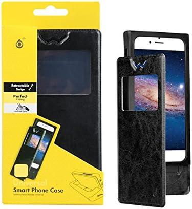 FUNDA UNIVERSAL SMARTPHONE 5 PULGADAS NEGRA ONE+: Amazon.es ...