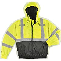 Tingley Rubber J26112 Bomber II Jacket, XX-Large, Lime Green Polyester 6