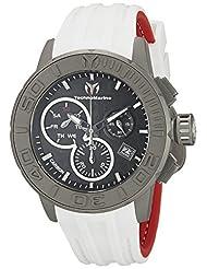 Technomarine Men's TM-515004 Titanium Reef Analog Display Swiss Quartz White Watch by TechnoMarine