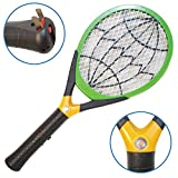 Native Spring Electric LED Fly Swatter Bug Zapper with Built-in Rechargeable Battery For Indoor and Outdoor Pest Control Green