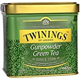 Twinings Green Gunpowder Tea, Loose Tea, 3.53 oz Tins