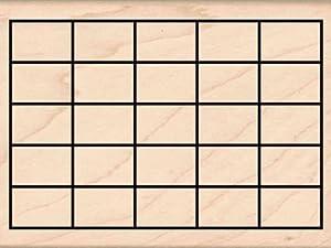 Amazon.com: Calendar grid Rubber Stamp – 3 inches x 4 inches: Arts ...