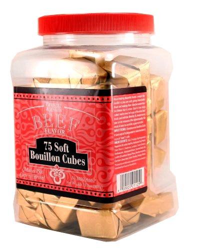 Berkley & Jensen Beef Flavor 75 soft Bouillon Cubes (1lb 15.7oz container)