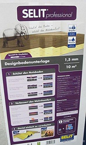 Schön SELIT professional 1,5mm,Vinyl-Designboden-Unterlage  FR36