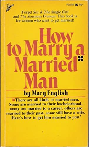i want to marry a married man