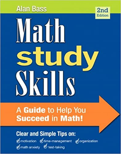 Math study skills 2nd edition study skills in developmental math math study skills 2nd edition study skills in developmental math alan bass 9780321893079 amazon books fandeluxe Images
