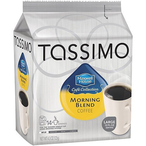 Tassimo Maxwell House Morning Blend - Mild - 14 T-Discs by Maxwell House [Foods]