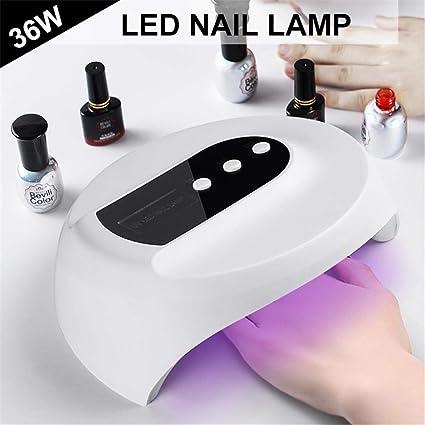 36W USB LED UV Lámpara De Gel Curado Lámpara Secadores De Uñas Nail Art Tool Salon